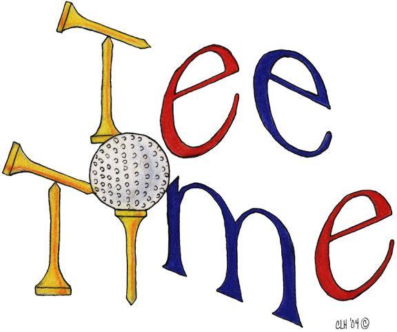 Golf Tee Clipart