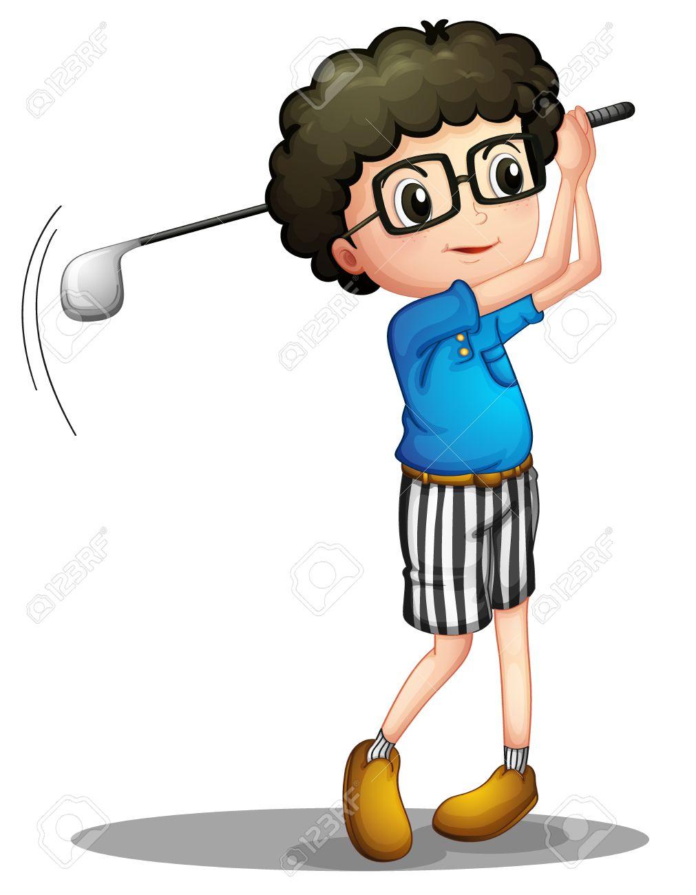 Golf illustration. Golfing clipart free download