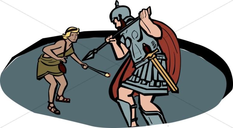 776x428 Goliath The Philistine Giant Old Testament Clipart