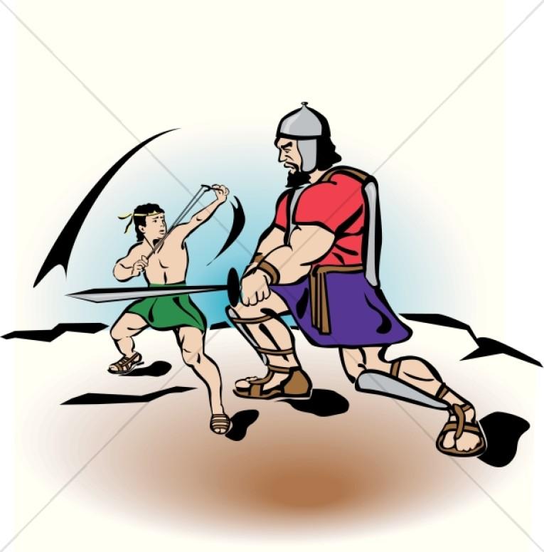 765x776 David And Goliath Clipart