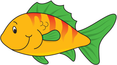 385x215 Clipart Of Fish