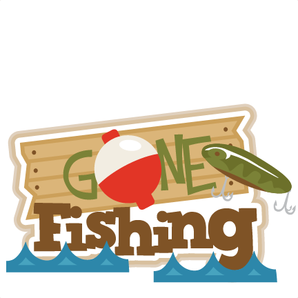 432x432 Fisherman Clipart Gone Fishing
