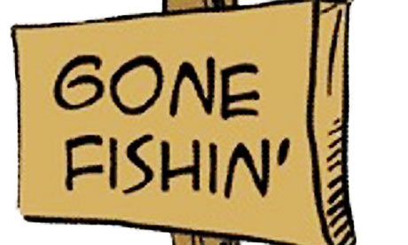460x276 Gone Fishing Clipart