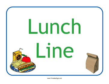 363x281 Printable Lunch Sign Pictures To Pin
