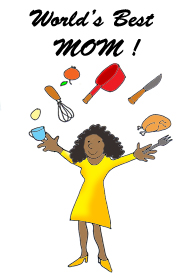 185x279 Mothers Day Clip Art