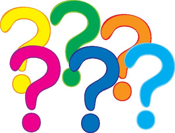 600x455 Question Mark Clip Art Coloured Question Marks Clip Art