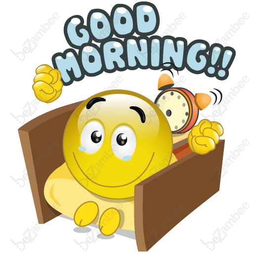 Good morning art free download best good morning art on clipartmag 512x512 goodmorning smiley faces tags good morning greetings alarm m4hsunfo