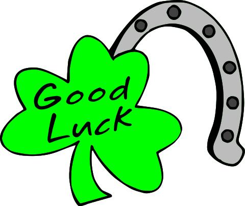 480x403 Good Luck Clipart
