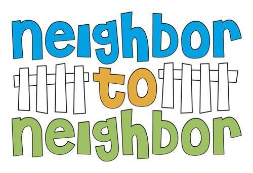 500x343 Good Neighbor Cliparts