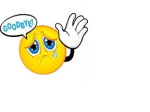 512x384 Goodbye Smiley Face Clip Art
