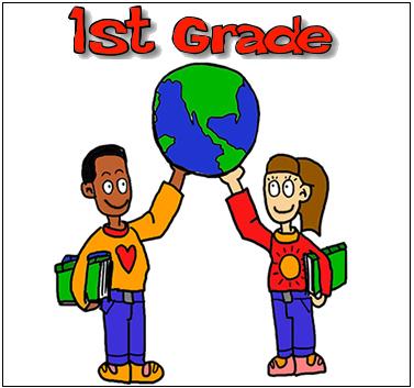 377x353 First Grade Clipart