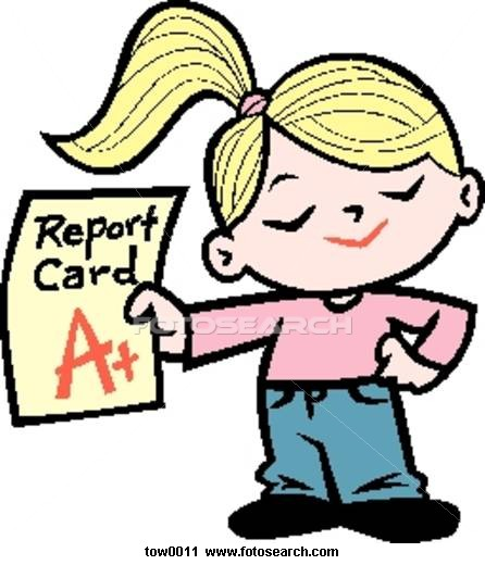 446x520 Grade Report Clip Art