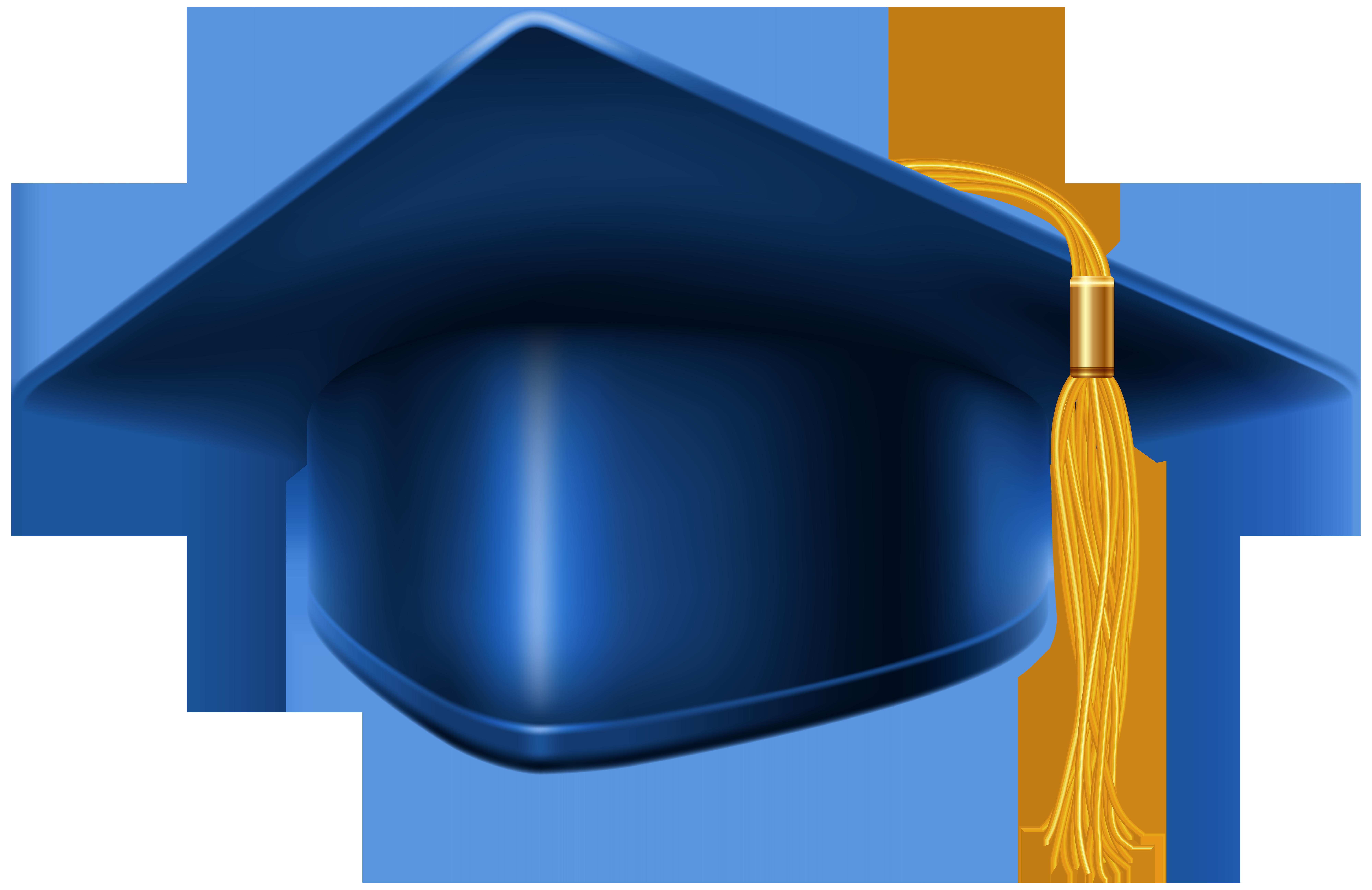 8000x5190 Graduation Clipart Blue