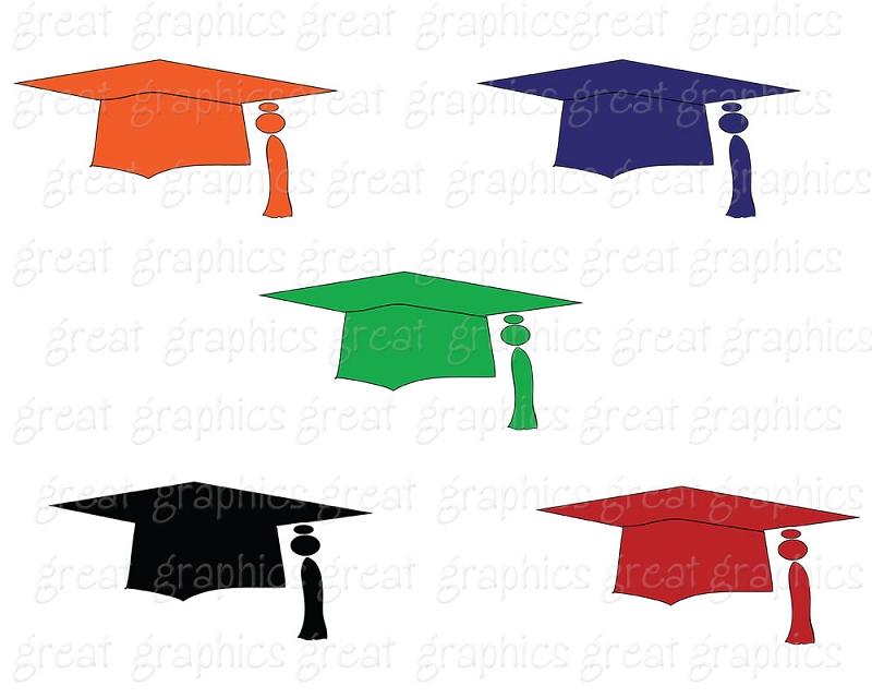 Graduation Cap And Gown Clipart | Free download best Graduation Cap ...