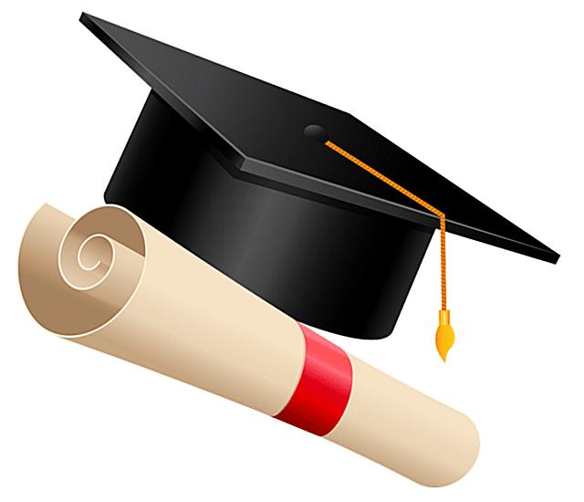 640x550 Graduation Cap Clip Art