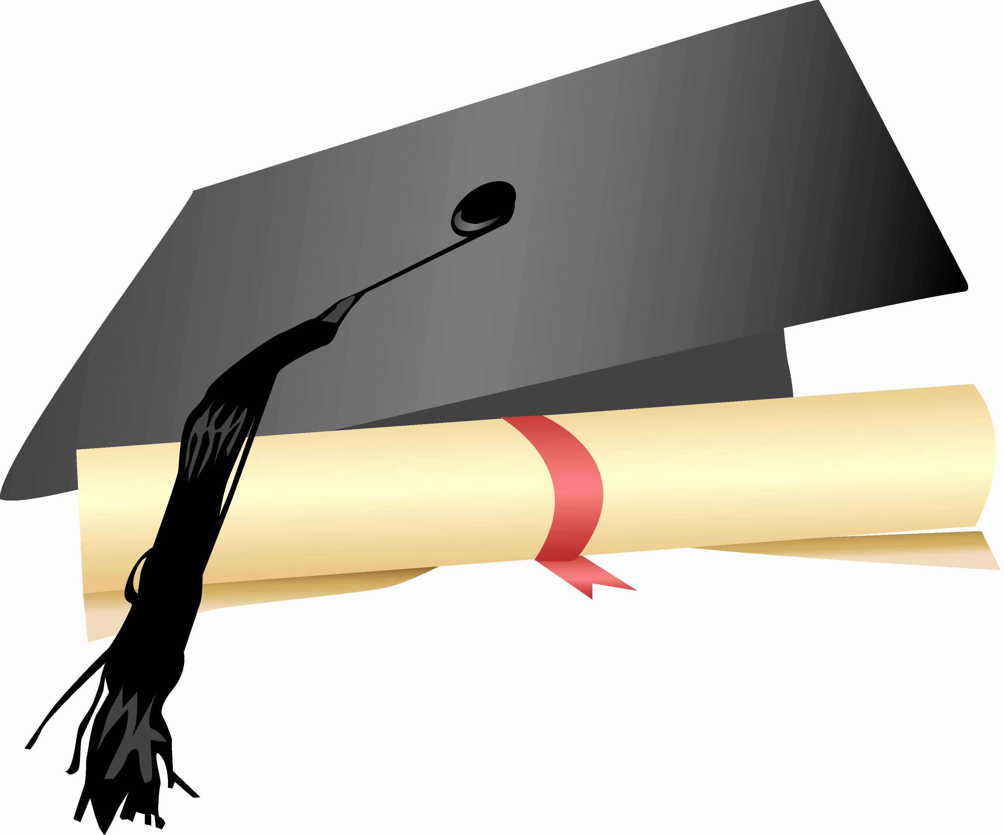 3300x2746 Cap And Gown Diploma Clipart (20+)