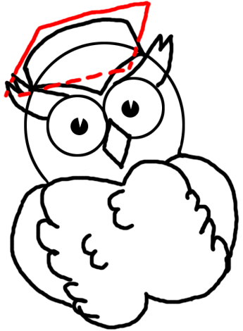 345x470 How To Draw Owls Simple Steps To Cartooning A Comic Owl