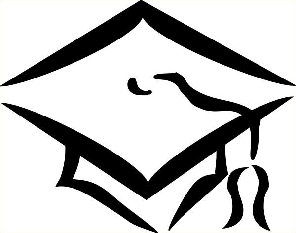 Graduation Cap Outline