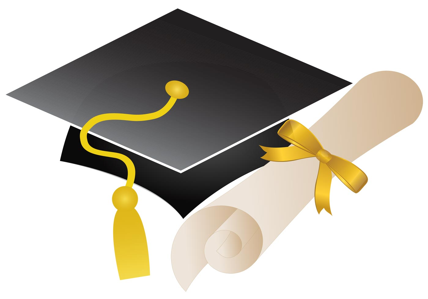 Graduation Cap Outline | Free download best Graduation Cap Outline ...