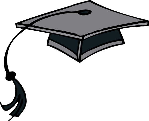 600x486 Graduation Hat Flying Graduation Caps Clip Art Cap Line 3