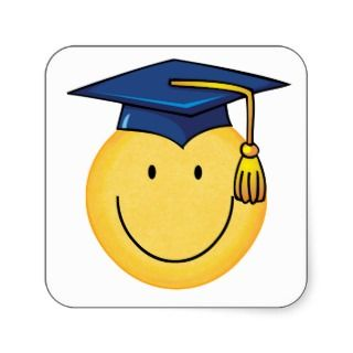 320x320 Graduation Smiley Face Clip Art 101 Clip Art