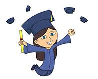 195x157 Holding graduation diploma graduation clipart, explore pictures