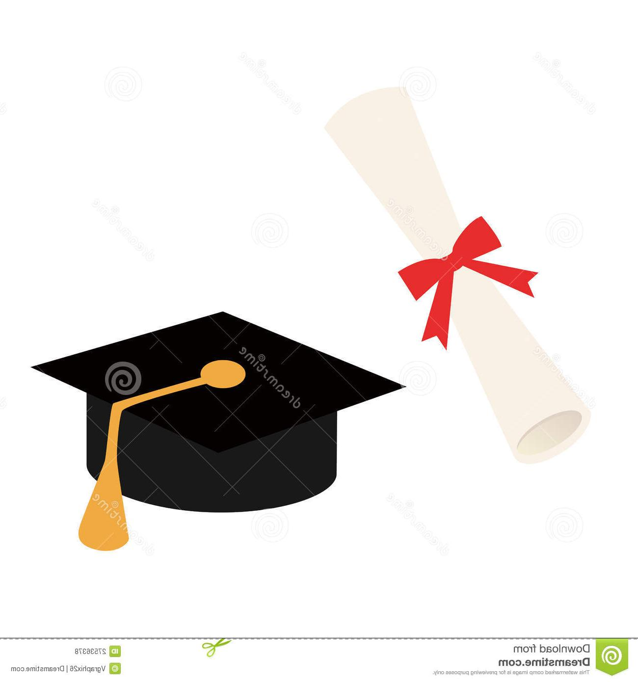 1300x1390 Top 10 Graduation Cap Diploma Vector File Free