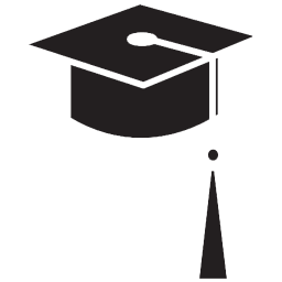256x256 Collection of graduation cap icons free download