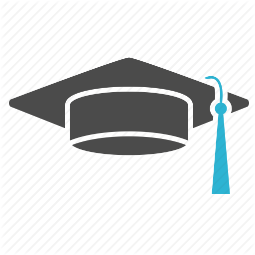 512x512 College, education, graduation, hat, school, science, student