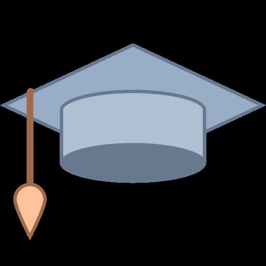 540x540 Graduation Cap Emoji