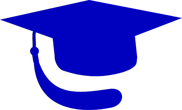 600x361 Gold Graduation Cap Clip Art