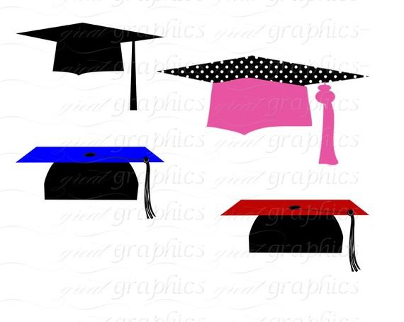 570x455 Graduation Clip Art Graduation Clipart Digital Graduation Caps