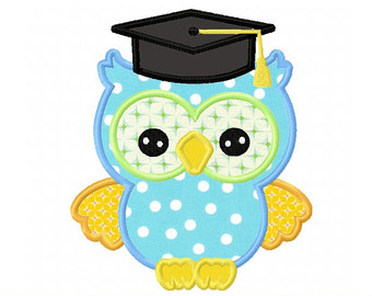 340x270 Graduation Owl Clip Art