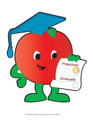 300x388 Graduation Clipart Preschool