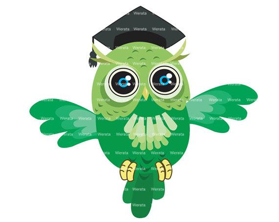 570x453 Owl Graduation Clipart Clipart Panda