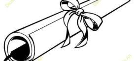 272x125 Free Graduation Clip Art On Diploma Clip Art