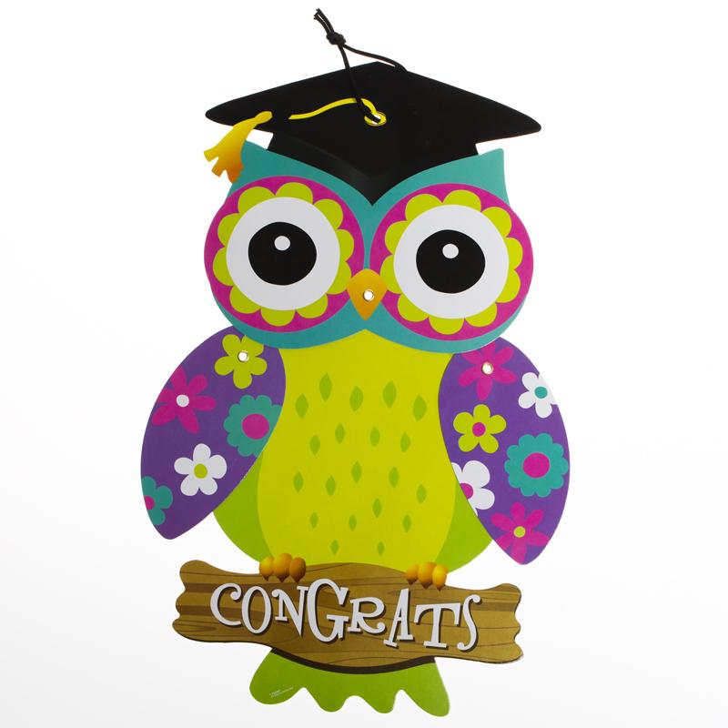 800x800 Owl Graduation Clipart