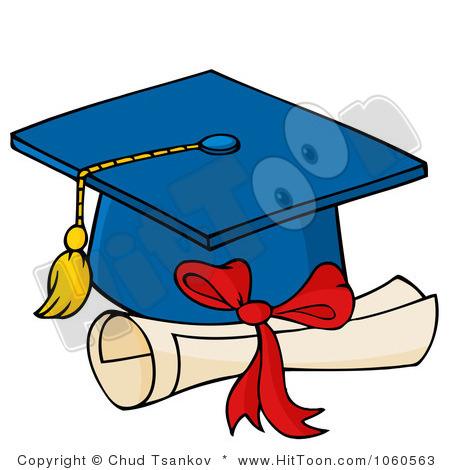 450x470 Clipart Graduation