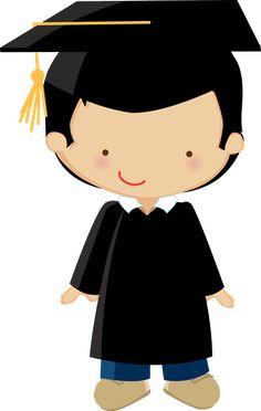 236x372 Graduation Girl Kawai Clip Art, Graduation Cards