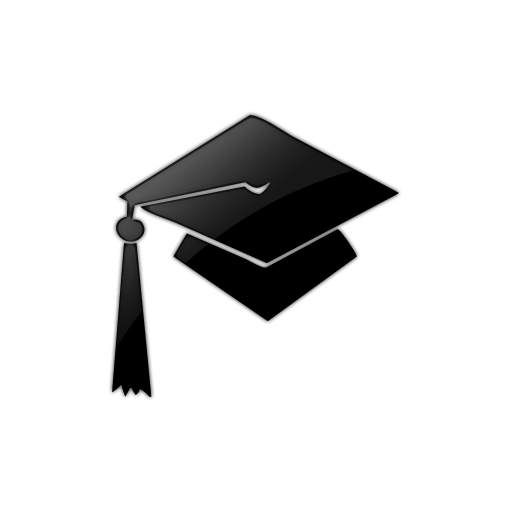 512x512 Graduation Cap (Caps) Icon