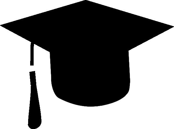 600x445 Graduation Hat Clip Art
