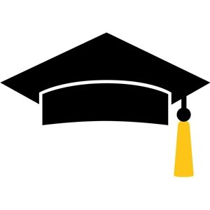 300x300 Best Graduation Cap Clipart Ideas Castle