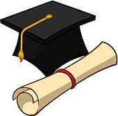 170x166 Graduation Scroll Clip Art