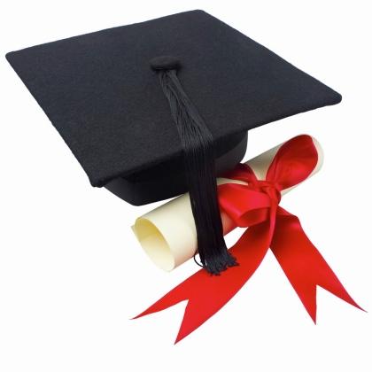 420x420 Graduation Graduate Clip Art Image