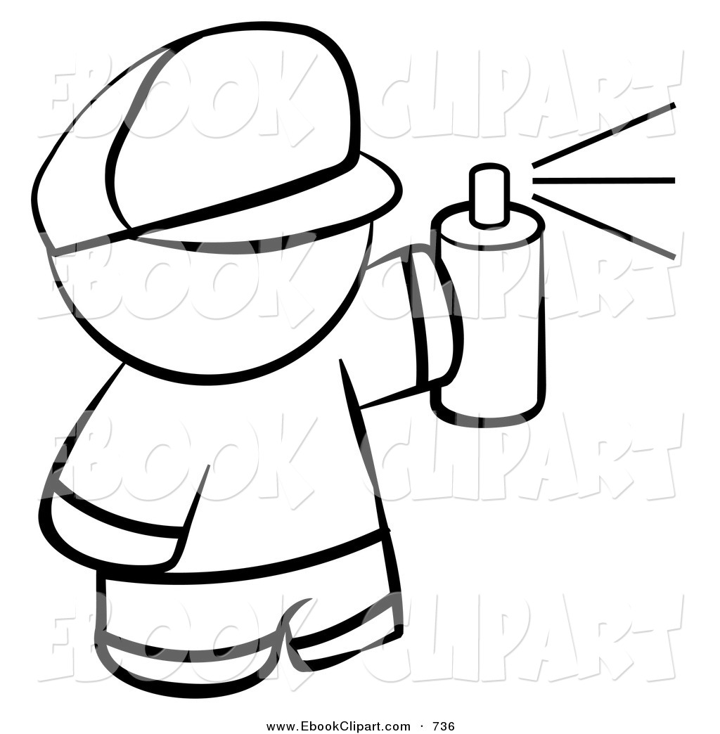 spray can coloring pages - photo#22