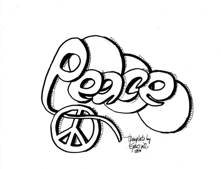 money graffiti coloring pages - photo#35