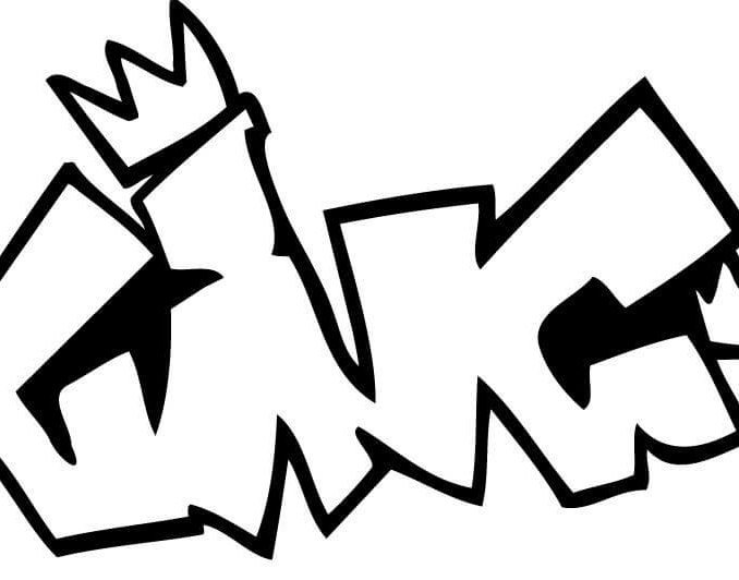 678x532 Graffiti Coloring Pages Names King Graffiti Coloring Page Free