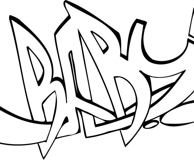 678x560 Graffiti Words Coloring Pages Kids Coloring Graffiti Words
