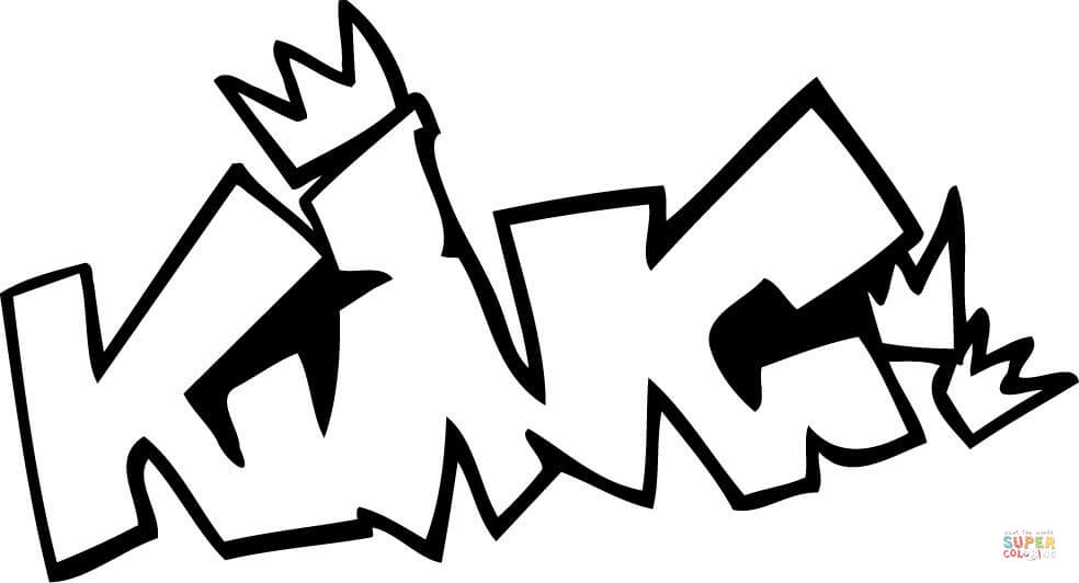 Graffiti Coloring Pages Free download best Graffiti Coloring Pages