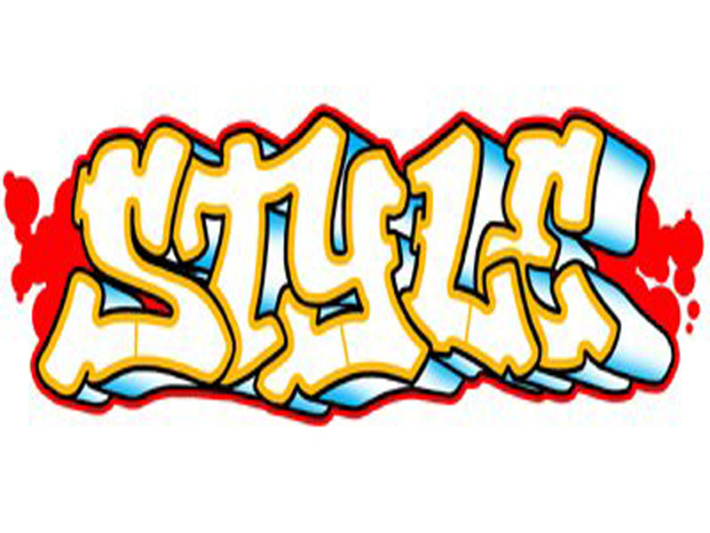 Cool graffiti. Letters t clipart free
